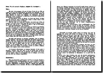 Georges Perec, W ou le souvenir d'enfance, Chapitre X, Le départ