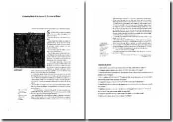 Questions corrigées sur un extrait de l'oeuvre Le Roman de Renart (Collège)