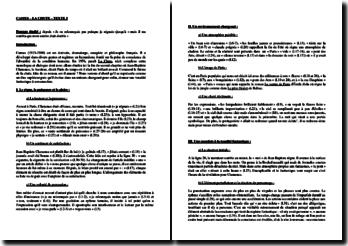 Camus, La Chute, Chapitre 2, Extrait