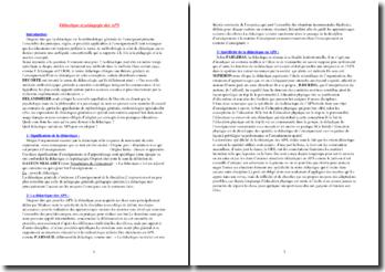 Didactique et pédagogie des Activités Physiques et Sportives (APS)