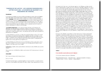 Choderlos de Laclos, Les Liaisons dangereuses, Lettre XLVIII : commentaire composé