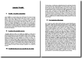 Antonio Vivaldi (1678-1741) : biographie du compositeur