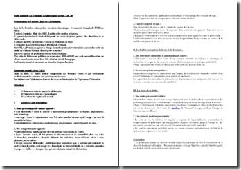 La Fontaine, Fables, Le Philosophe Scythe, Livre XII, Fable 20