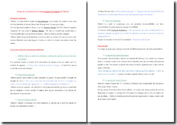 La spécificité du roman Jacques le Fataliste de Diderot