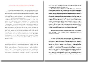 Jean Giraudoux, La Guerre de Troie n'aura pas lieu, Acte II scène 5 : commentaire