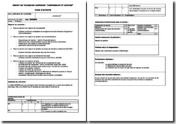 Activité Professionnelle de Synthèse (BTS CGO) : l'entreprise BOTANIK