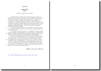 Voltaire, Candide, Chapitre XVIII, Extrait : étude analytique
