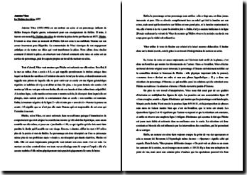 Antoine Vitez, Le Théâtre des idées, Extrait : commentaire
