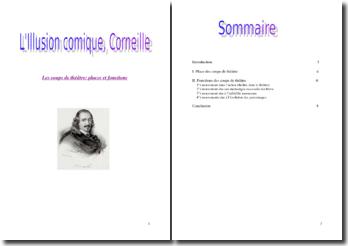 Les coups de théâtre dans L'Illusion comique de Corneille
