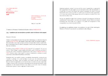 Lettre de motivation pour une admission en bi-licence droit-espagnol