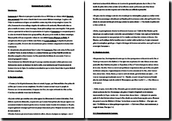 Musset, Lorenzaccio, Acte I scène 4 : commentaire composé