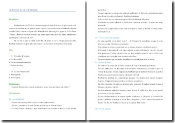 Rimbaud, Le Dormeur du Val : commentaire composé