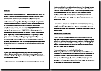 Musset, Lorenzaccio, Acte II scène 6 : commentaire composé
