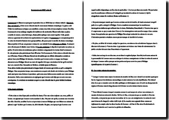 Musset, Lorenzaccio, Acte III scène 3 : commentaire composé