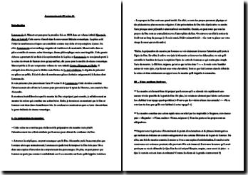 Musset, Lorenzaccio, Acte IV scène 11 : commentaire composé