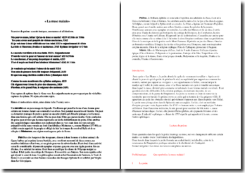 Baudelaire, Les Fleurs du Mal, La muse malade : commentaire
