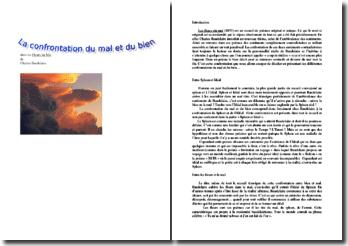 La confrontation du bien et du mal dans Les Fleurs du Mal de Charles Baudelaire