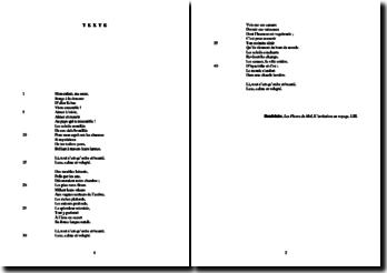 Charles Baudelaire, Les Fleurs du Mal, L'invitation au voyage