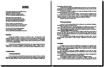 Arthur Rimbaud, Les Cahiers de Douai, Ma Bohème