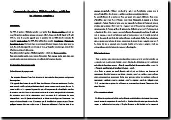 Jules Laforgue, Méditation grisâtre : commentaire