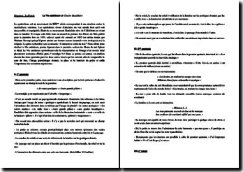 Charles Baudelaire, Les Fleurs du Mal, La Vie antérieure : étude linéaire