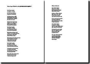 Louis Aragon, Ballade de celui qui chanta sous les supplices