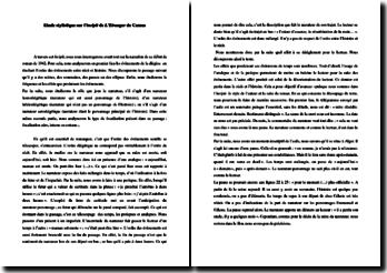 La narration dans l'incipit de L'étranger de Camus