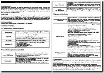L'abbé Prévost, Manon Lescaut, La mort de Manon : analyse