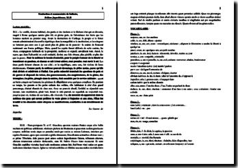 Salluste, La Guerre de Jugurtha, XLII : commentaire et traduction