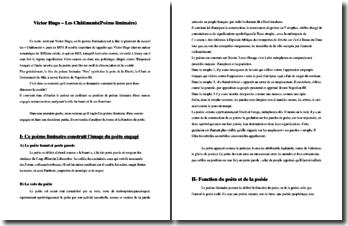 Victor Hugo, Les Châtiments, Nox : commentaire composé