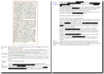 Camus, La Peste, Acte II scène 3, Le premier prêche de Paneloux : commentaire
