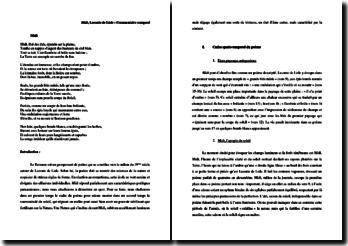 Leconte de Lisle, Poèmes antiques, Midi : commentaire