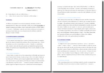Victor Hugo, Les Misérables, Livre V, Chapitre X : commentaire
