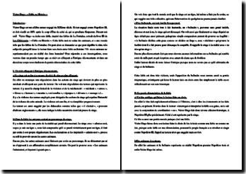 Victor Hugo, Châtiments, Fable ou Histoire : commentaire composé