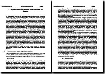 C. De Boissieu, Les systèmes financiers : mutations, crises et régulation, Chapitre 1