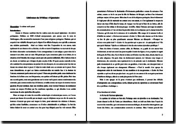 Guilleragues, Les lettres de la religieuse portugaise : le retour sur le passé