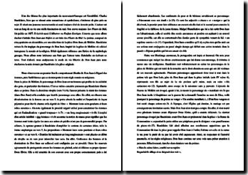 Baudelaire, Don Juan aux Enfers : commentaire