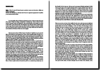 Camus, La Peste : la peste, une abstraction ?