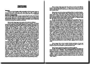 Aragon, Aurélien, Chapitre XXXI : commentaire