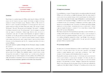 La Bruyere, Les Caractères, Chapitre II, Article 40 : commentaire composé