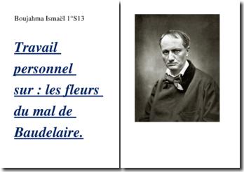 Baudelaire, Les Fleurs du Mal : étude