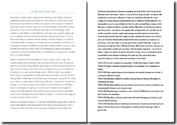 Beaumarchais, Le Mariage de Figaro, Acte III scène 16 : étude linéaire