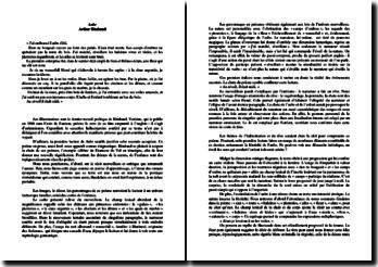 Rimbaud, Illuminations, Aube : commentaire