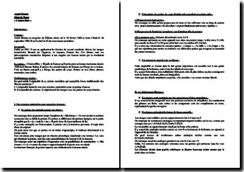 André Breton,Clair de Terre, Union Libre : commentaire