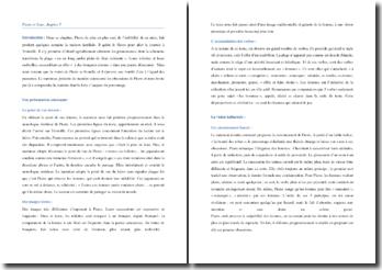 Guy de Maupassant, Pierre et Jean, Chapitre 5 : commentaire composé