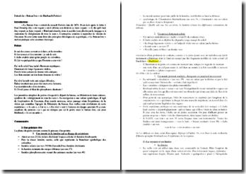 Rimbaud, Poésies, Le Bateau ivre : commentaire