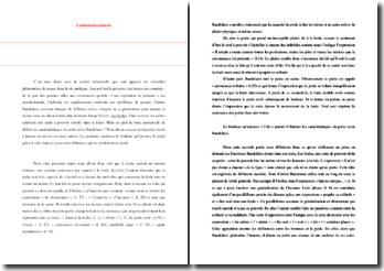 Baudelaire, Petits poèmes en prose, Les foules : commentaire