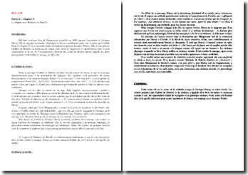 Maupassant, Bel-Ami, Partie II, chapitre X : La dispute avec Madame de Marelle