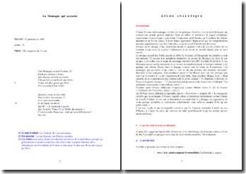 La Fontaine, Fables, La Montagne qui accouche : analyse