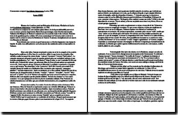 Choderlos de Laclos, Les Liaisons dangereuses : lettre 125
